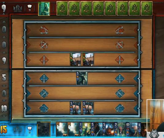 LifeCoach jugando a Gwent